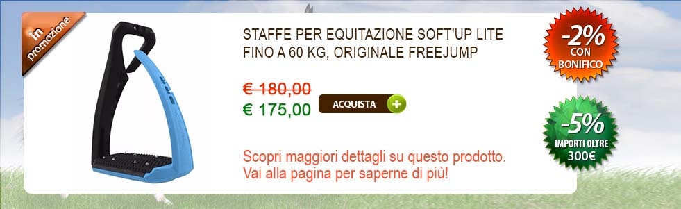 Staffa da equitazione Soft'up Lite Freejump