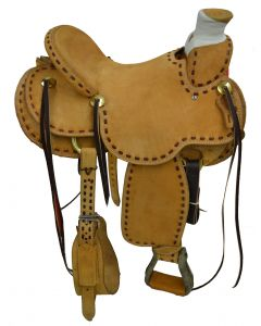 SELLA WESTERN WADE RANCH DOUBLE S & ROCKING T SADDLERY GRENVILLE TEXAS
