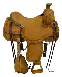 SELLA WESTERN RANCH CUTTER DOUBLE S & ROCKING T SADDLERY GRENVILLE TEXAS