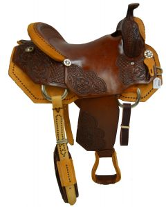 SELLA WESTERN WILL JAMES DOUBLE S & ROCKING T SADDLERY GRENVILLE TEXAS