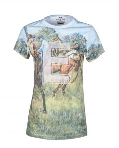 T-SHIRT DONNA EQUILINE MODELLO TINSEL