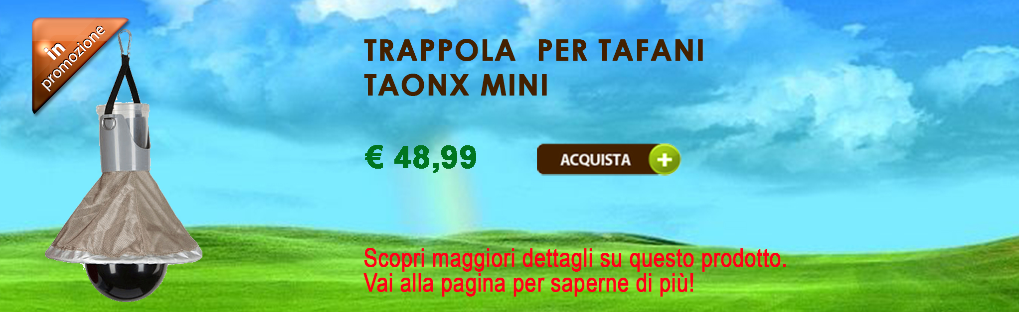 Trappola per tafani TaonX  Mini