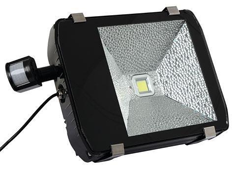 Proiettore esterno a led da w con sensore di movimento