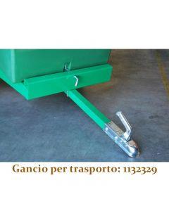 GANCIO TRAILER QUAD - CARRETTO TRAINATO DA LT 450