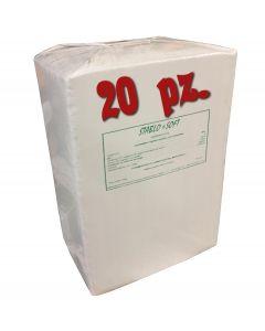 BANCALE DA 20 PZ. LETTIERA STABLO SOFT LT. 300  FIBRA DI COCCO Confezione da kg. 20