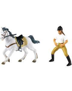 RIDING GIRL + HORSE